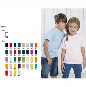 T-SHIRT REGULAR KID 150G CORES